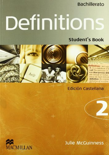 9781405094290: Definitions (Bachillerato) Course 2. Student's Book - Edición Castellano