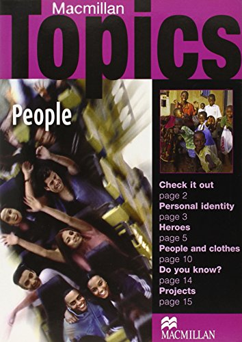 9781405094900: Macmillan Topics: People (Beginner)