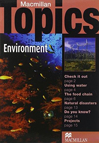 9781405094948: Macmillan Topics: Environment (Elementary)