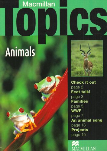 9781405095013: Macmillan Topics Beginner Plus Animals (A1)