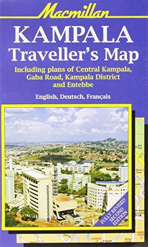 9781405095020: Kampala Tourist Map