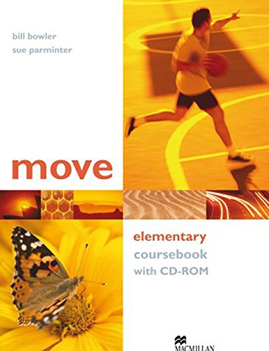 9781405095129: Move Elementary Coursebook with CD-ROM