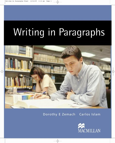 9781405095860: Writing in Paragraphs