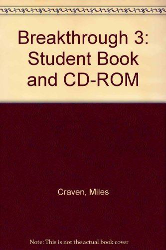 9781405098199: Breakthrough 3: Student Book and CD-ROM
