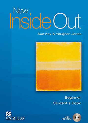 9781405099462: NEW INSIDE OUT Beg Sts Pack: Student's Book with CD ROM Pack: Beginner
