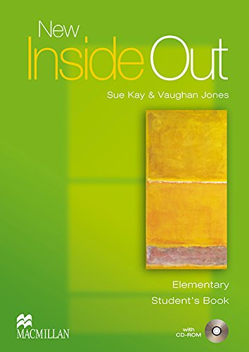 9781405099493: New Inside Out - Student Book - Elementary - With CD Rom - CEF A1 / A2