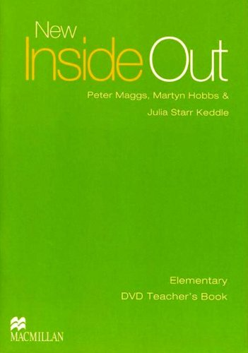 9781405099523: New Inside Out DVD Teacher's Book Elementary
