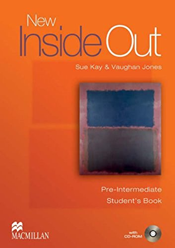 9781405099547: New Inside Out Student Book Pre Intermediate With CD Rom
