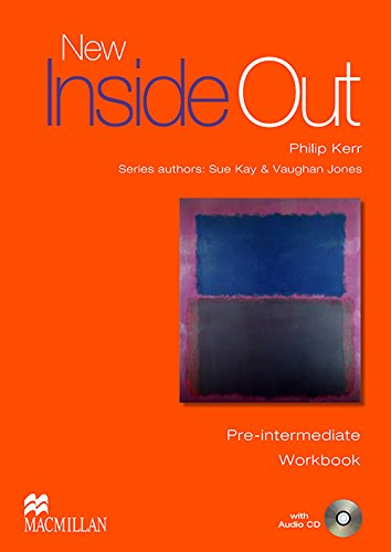 9781405099554: New Inside Out Pre-intermediate Workbook without key
