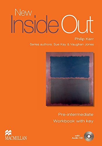 9781405099646: New Inside Out - Workbook - Pre Intermediate - With Key and Audio CD