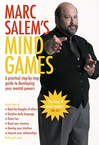 9781405099950: Marc Salem's Mind Games: A Practical Step-by-step Guide to Developing Your Mental Powers