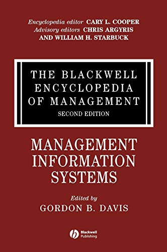 The Blackwell Encyclopedia of Management, Management Information