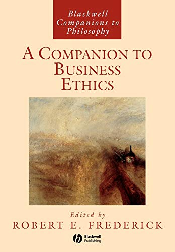 9781405101028: A Companion to Business Ethics