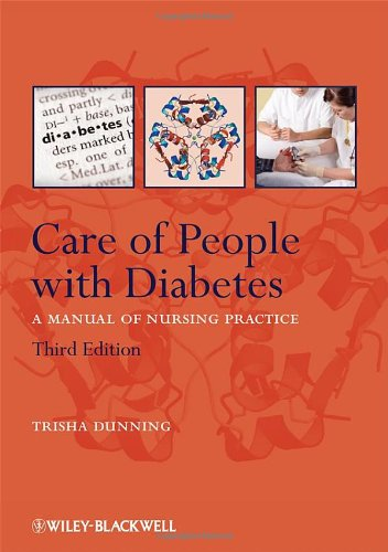 9781405101110: Care of People with Diabetes: A Manual of Nursing Practice
