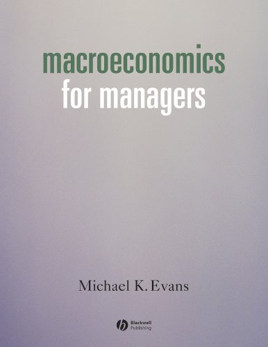 9781405101448: Macroeconomics for Managers
