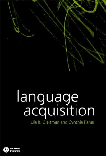 9781405102247: Language Acquisition (Blackwell/Maryland Lectures in Language and Cognition)