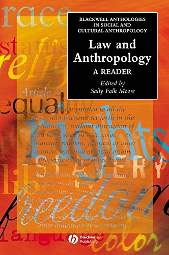 9781405102278: Law and Anthropology: A Reader (Wiley Blackwell Anthologies in Social and Cultural Anthropology)