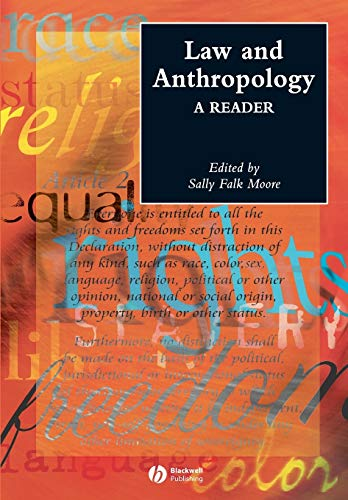 9781405102285: Law and Anthropology: A Reader