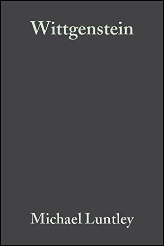 9781405102421: Wittgenstein: Meaning and Judgement