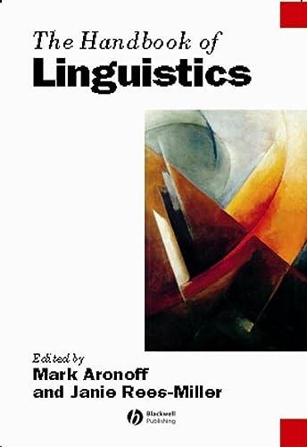 9781405102520: The Handbook of Linguistics
