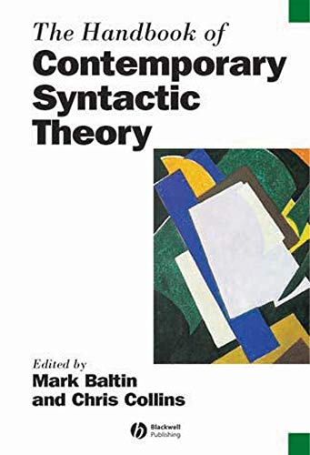 9781405102537: The Handbook of Contemporary Syntactic Theory