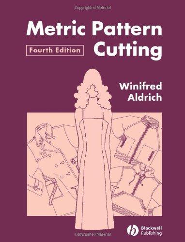 9781405102780: Metric Pattern Cutting