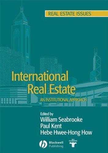 9781405103084: International Real Estate: An Institutional Approach