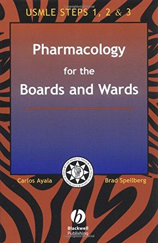 9781405103244: Pharmacology for the Boards and Wards (Boards and Wards Series)