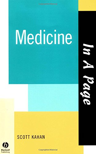 Medicine (In a Page): Scott Kahan