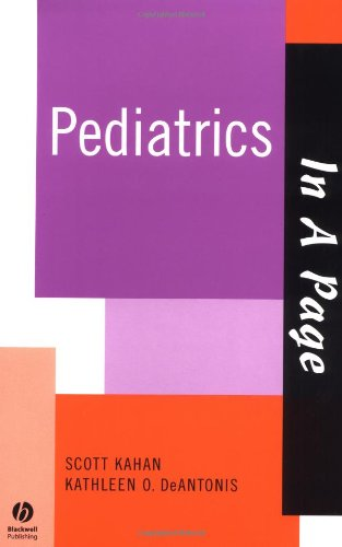 In A Page Pediatrics (In a Page: Scott Kahan, Kathleen