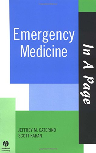 9781405103572: In A Page Emergency Medicine (In a Page Series)