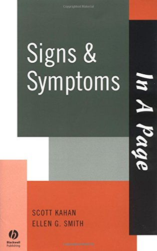 9781405103688: Signs and Symptoms (In a Page)