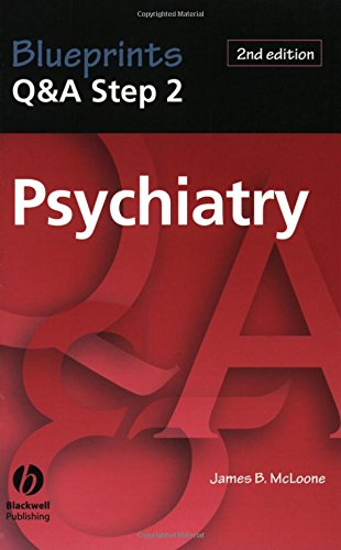 9781405103923: Blueprints Q&A Step 2 Psychiatry (Blueprints Q&A Series)