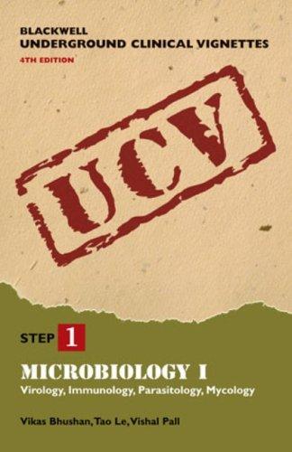 9781405104128: Blackwell Underground Clinical Vignettes: Microbiology I: Virology, Immunology, Parasitology, Mycology (Blackwell Underground Clinical Vignettes Series) (v. 1)