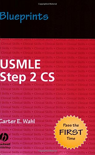 9781405104388: Blueprints USMLE Step 2 CS (Blueprints Series)