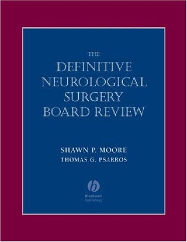 9781405104593: Definitive Neurological Surgery Board Review (Board Review Series)