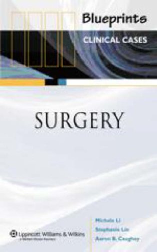 9781405104937: Blueprints Clinical Cases in Surgery
