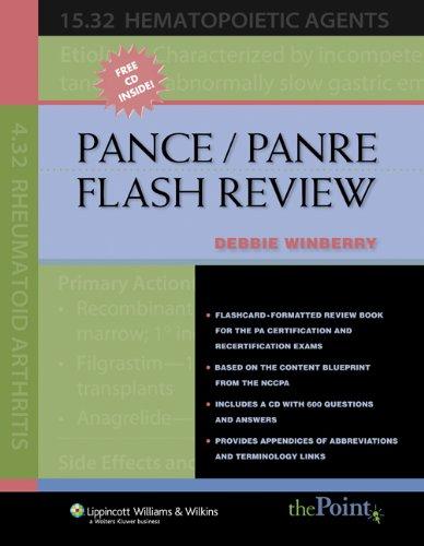 9781405105088: PANCE/PANRE Flash Review
