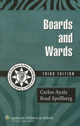 9781405105095: Boards and Wards: A Review for USMLE Steps 2&3 (Boards and Wards Series)