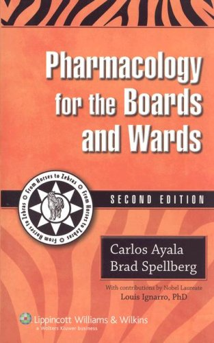 9781405105118: Pharmacology for the Boards and Wards (Boards and Wards Series)