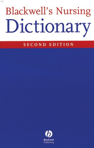 9781405105347: Blackwell's Nursing Dictionary