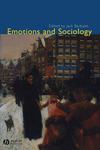 9781405105576: Emotions and Sociology