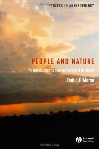 9781405105729: People and Nature: An Introduction to Human Ecological Relations