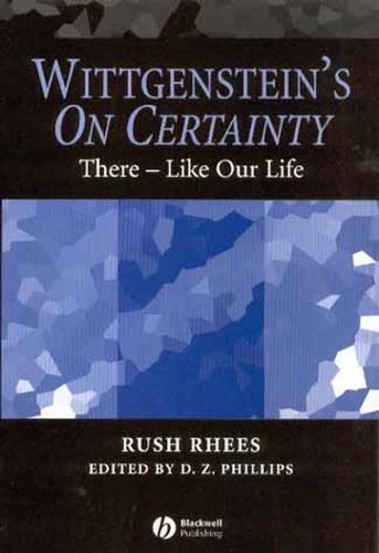 9781405105798: Wittgenstein's On Certainty: There - Like Our Life