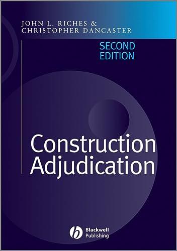 9781405106351: Construction Adjudication