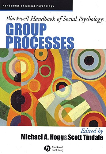 9781405106535: Blackwell Handbook of Social Psychology: Group Processes
