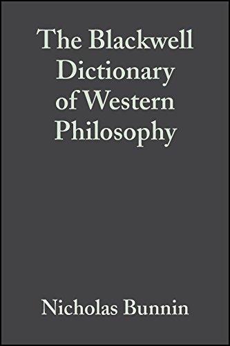 The Blackwell Dictionary of Western Philosophy (Hardback): Nicholas Bunnin, Jiyuan Yu
