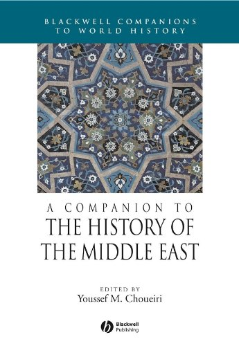 9781405106818: A Companion to the History of the Middle East