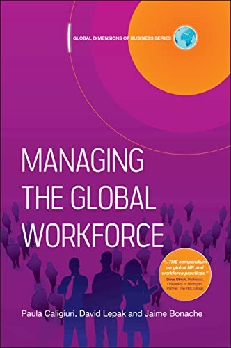 9781405107327: Managing the Global Workforce