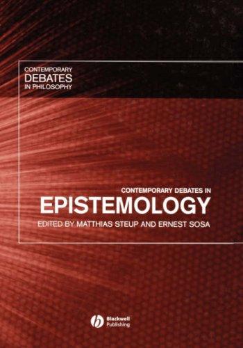 9781405107389: Contemporary Debates in Epistemology
